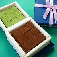 生チョコレート(抹茶)/生チョコレート(スイート)